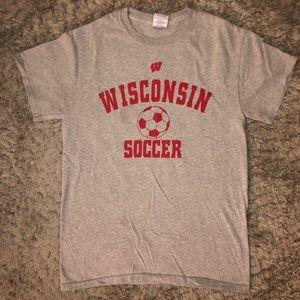 Wisconsin Soccer Tee
